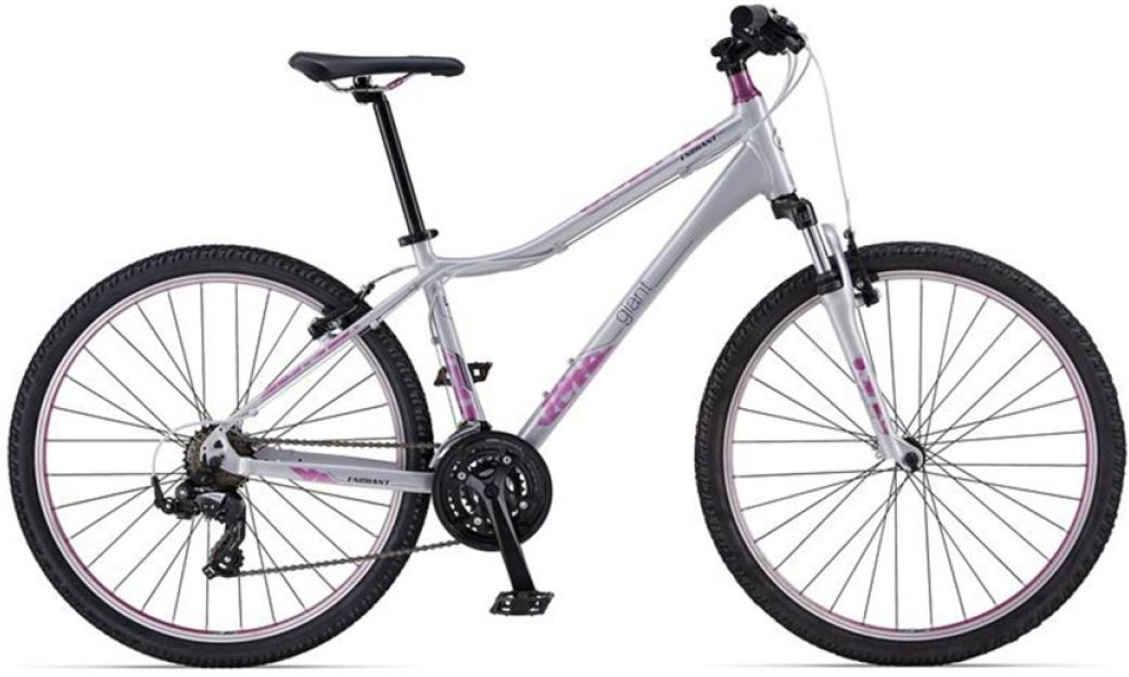 Велосипед женский Giant Enchant 2 2014, цвет: серый, рама 14, колесо 26. 107475107475