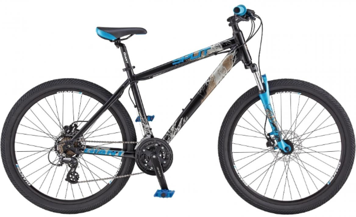 Велосипед горный Giant Split 1, цвет: красный, рама 16, колесо, 26107525