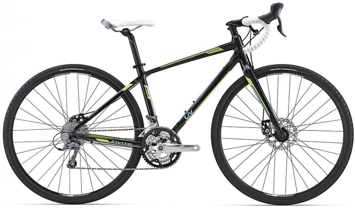 Велосипед женский Giant Invite 2 2015, цвет: белый, рама 18, колесо 28129468