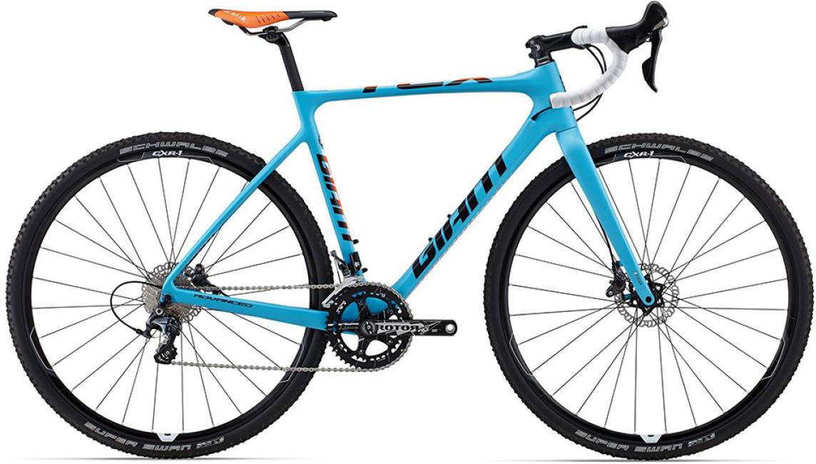 Велосипед шоссейный Giant TCX Advanced Pro 1 2015, цвет: синий, рама 18, колесо 28. 0129472129472