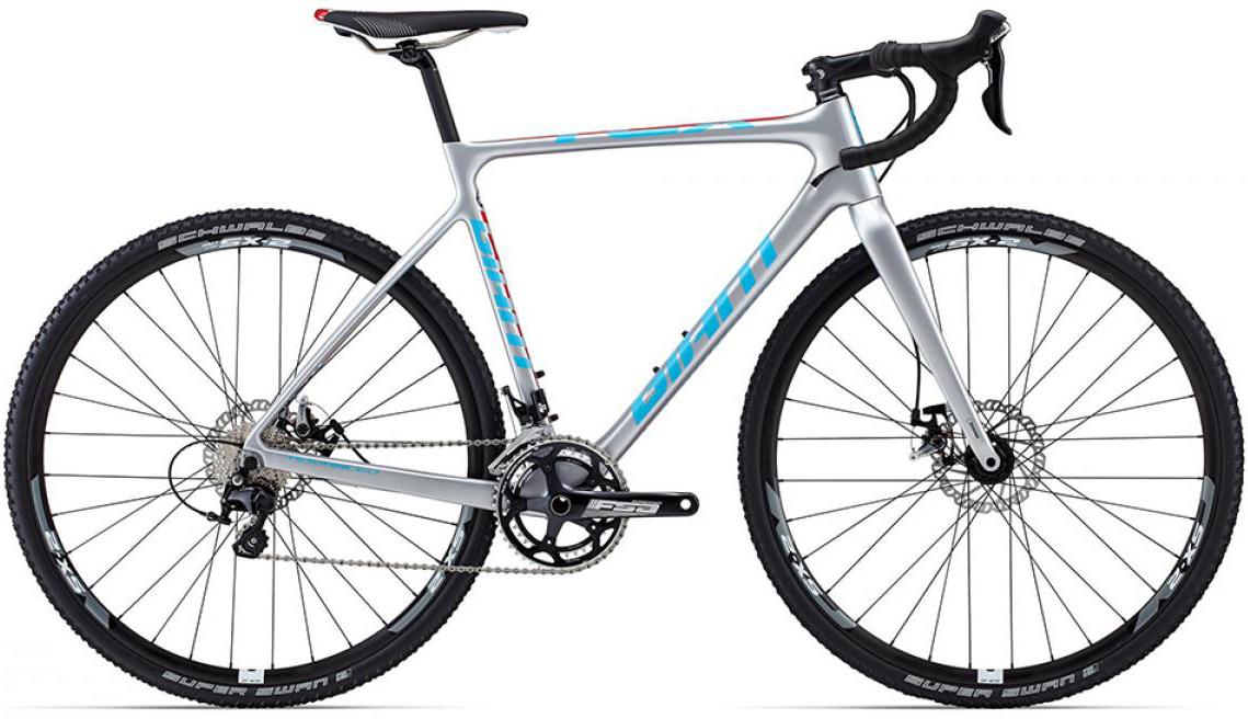 Велосипед шоссейный Giant TCX Advanced Pro 2 2015, цвет: серый, рама 22, колесо 28129480