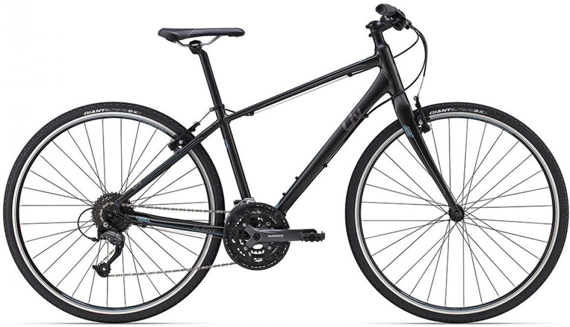 Велосипед женский Giant Alight 1 DD 2015, цвет: черный, рама 14,5, колесо 28129494