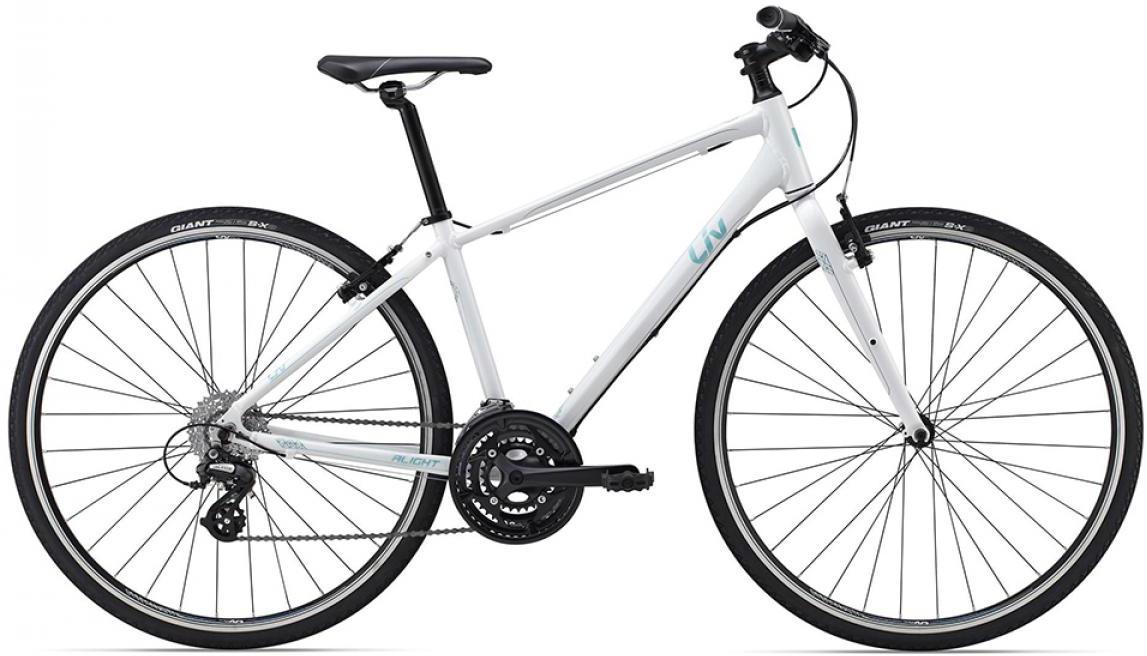 Велосипед женский Giant Alight 2 DD 2015, цвет: синий, рама 18, колесо 28129499
