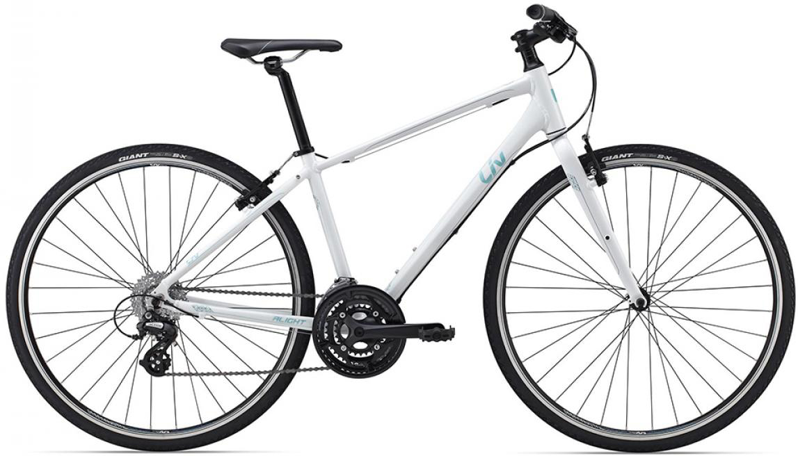 Велосипед женский Giant Alight 2 DD 2015, цвет: синий, рама 14,5, колесо 28129501