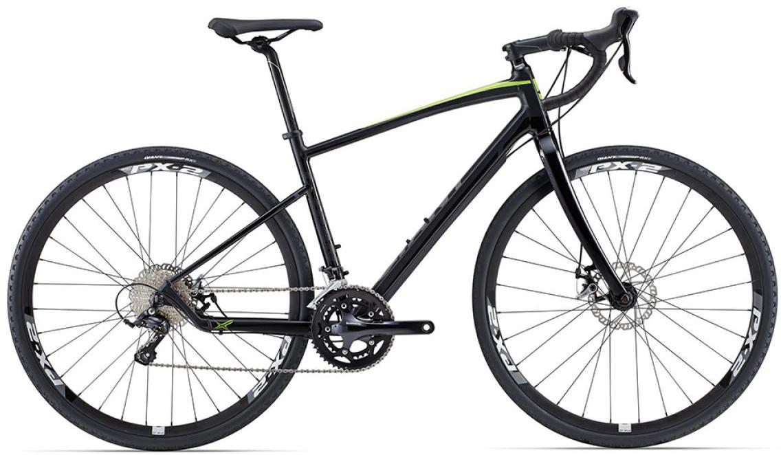 Велосипед шоссейный Giant Revolt 1 2015, цвет: черный, рама 22, колесо 28129506