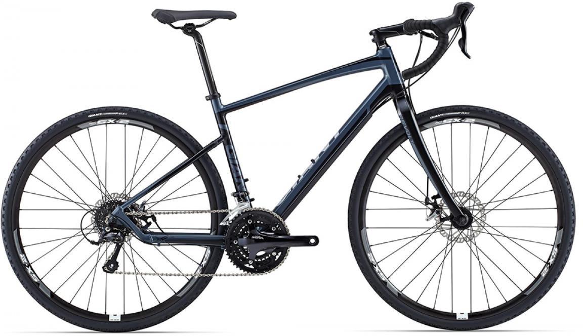 Велосипед шоссейный Giant Revolt 3 2015, цвет: черный, рама 18, колесо 28. 0129509129509