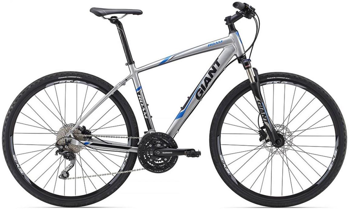 Велосипед городской Giant Roam 0 Disc 2015, цвет: серый, рама 20, колесо 28129512