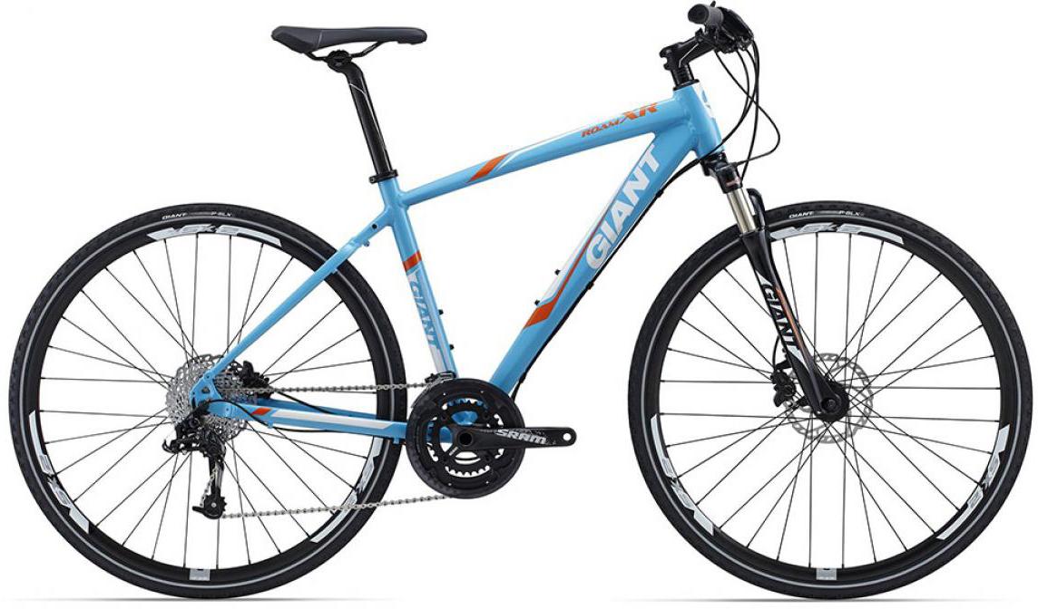 Велосипед городской Giant Roam XR 0 2015, цвет: голубой, рама 22, колесо 28129523