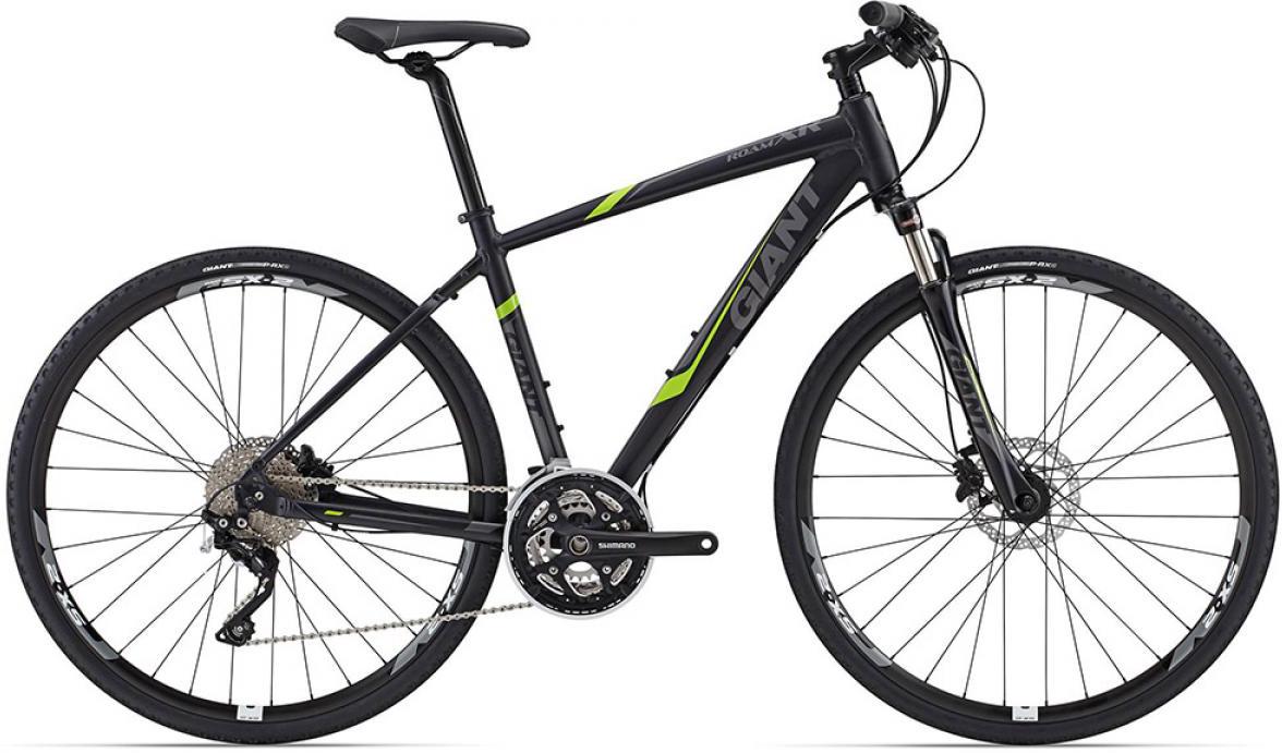 Велосипед городской Giant Roam XR 1 2015, цвет: черный, рама 22, колесо 28129527