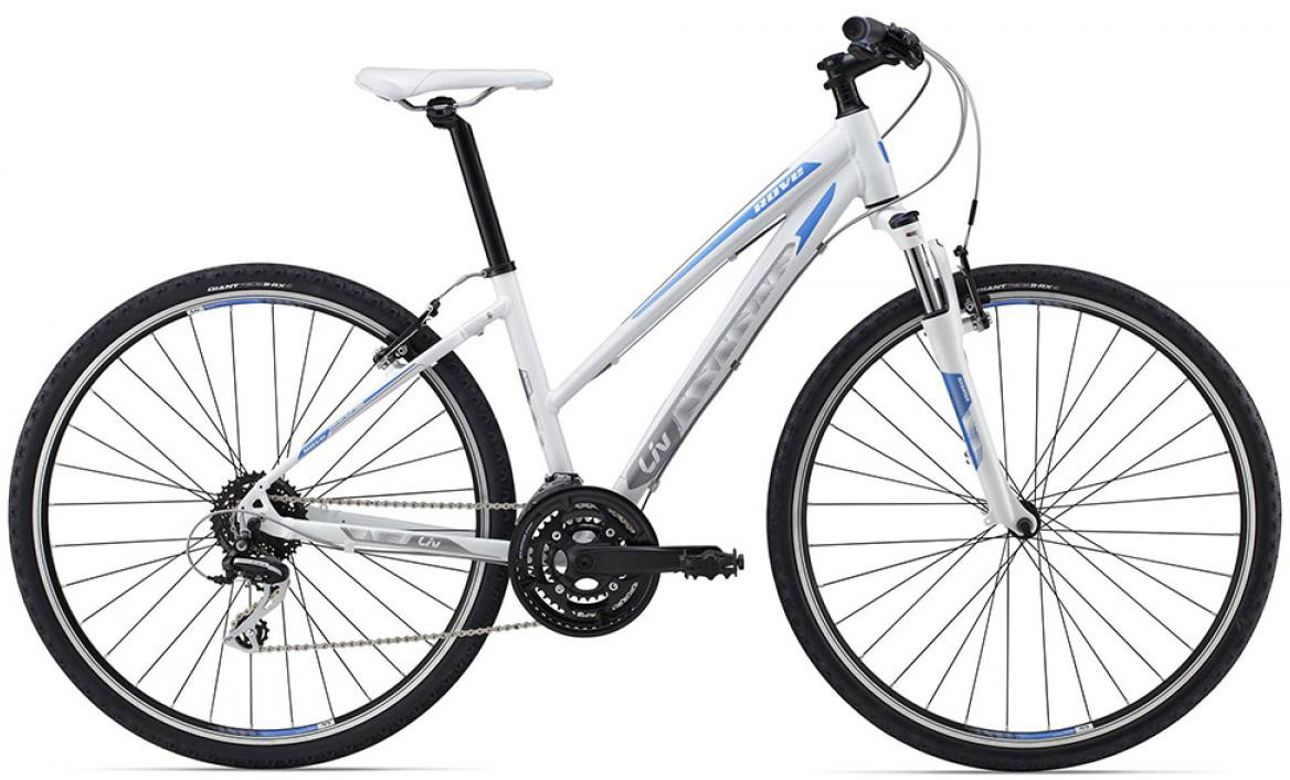 Велосипед женский Giant Rove 3 2015, цвет: белый, рама 16, колесо 28129534