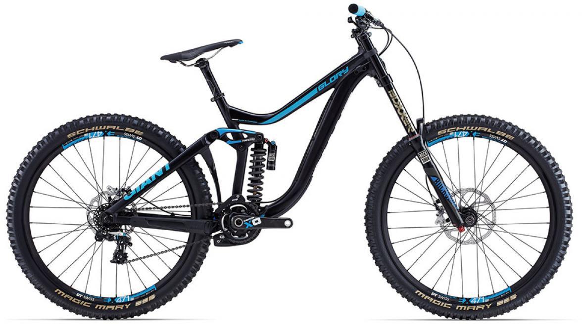 Велосипед горный Giant Glory 0 2015, двухподвесный, цвет: черный, рама 20, колесо, 27,5129563