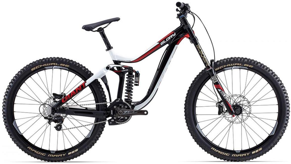 Велосипед горный Giant Glory 1 2015, двухподвесный, цвет: черный, рама 18, колесо, 27,5129567