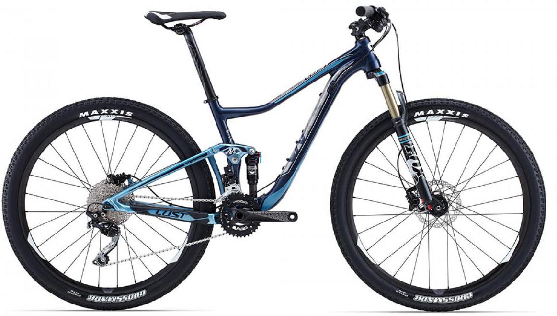 Велосипед женский Giant Lust 2 2015, цвет: синий, рама 14,5, колесо 27.5129583