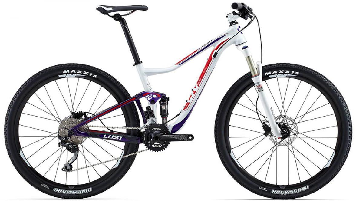 Велосипед женский Giant Lust 3 2015, цвет: белый, рама 14,5, колесо 27.5129586
