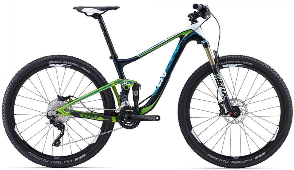 Велосипед женский Giant Lust Advanced 2 2015, цвет: зеленый, рама 18, колесо 27.5129587