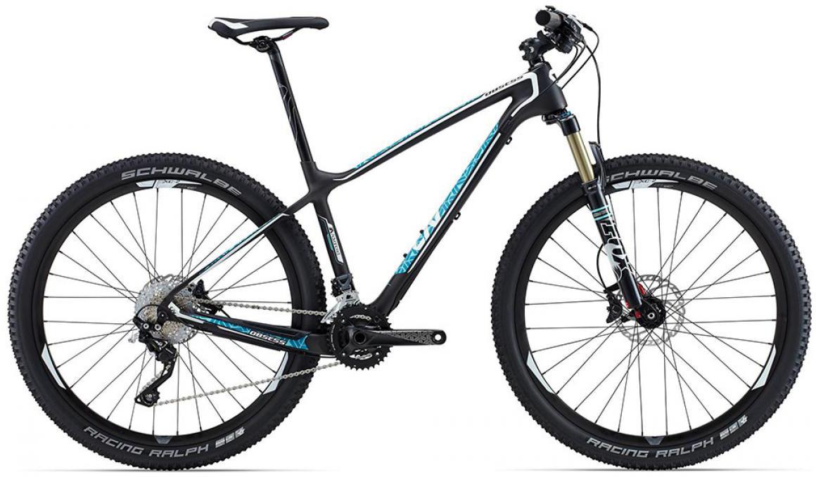 Велосипед женский Giant Obsess Advanced 2 2015, цвет: черный, рама 20, колесо 27.5129590