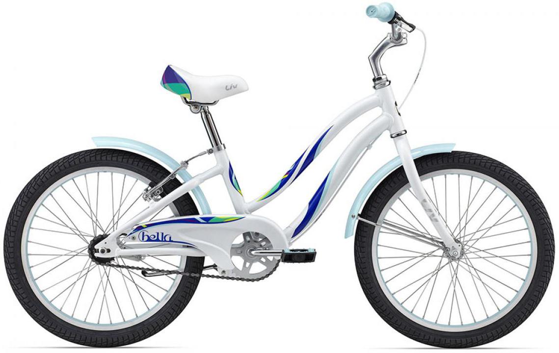 Велосипед детский Giant Bella 2015, цвет: белый, колесо 20129665