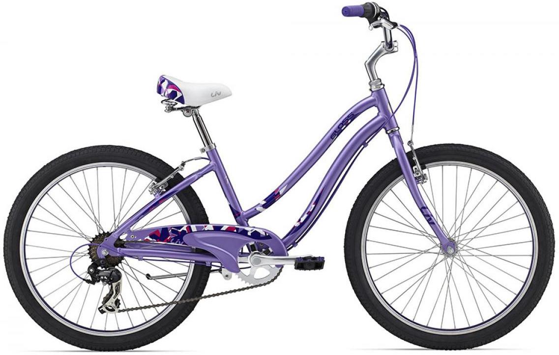 Велосипед детский Giant Gloss 2 2015, цвет: фиолетовый, колесо 24129666