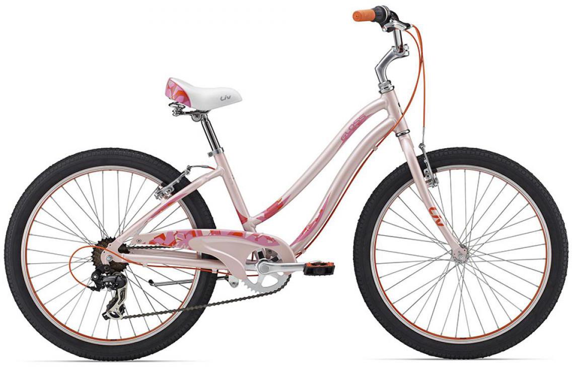 Велосипед детский Giant Gloss 2 2015, цвет: розовый, колесо 24129667