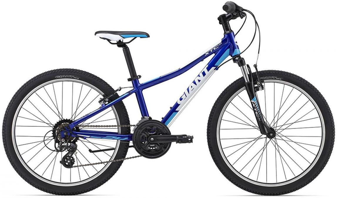 Велосипед детский Giant XtC Jr 1 2015, цвет: синий, колесо 24 велосипед детский giant xtc jr 2 2015 цвет черный колесо 24