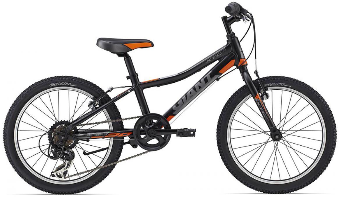 Велосипед детский Giant XtC Jr 2015, цвет: черный, колесо 20 велосипед детский giant xtc jr 2 2015 цвет черный колесо 24