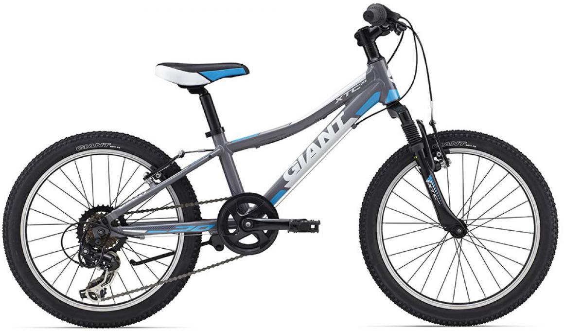 Велосипед детский Giant XtC Jr 2015, цвет: серый, колесо 20 велосипед детский giant xtc jr 2 2015 цвет черный колесо 24