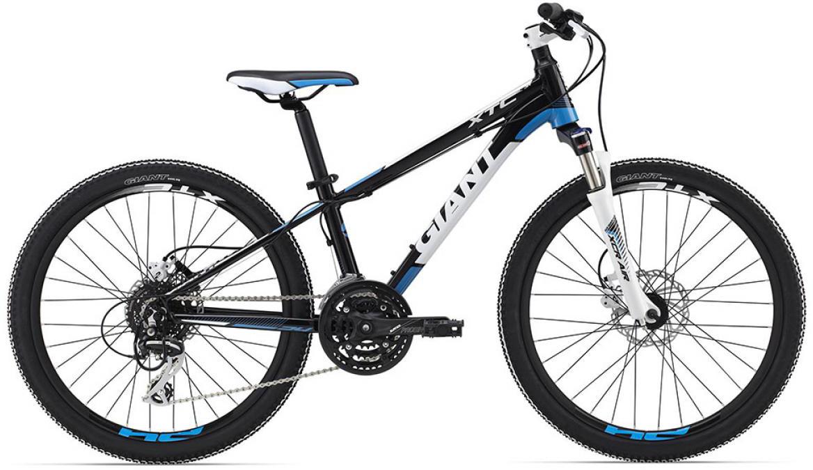 Велосипед детский Giant XtC SL Jr 2015, цвет: черный, колесо 24 велосипед детский giant xtc jr 2 2015 цвет черный колесо 24