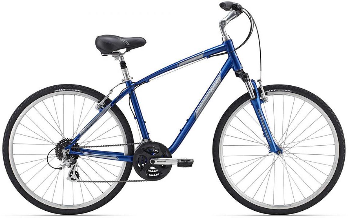 Велосипед городской Giant Cypress DX 2015, цвет: синий, рама 18, колесо 28129682