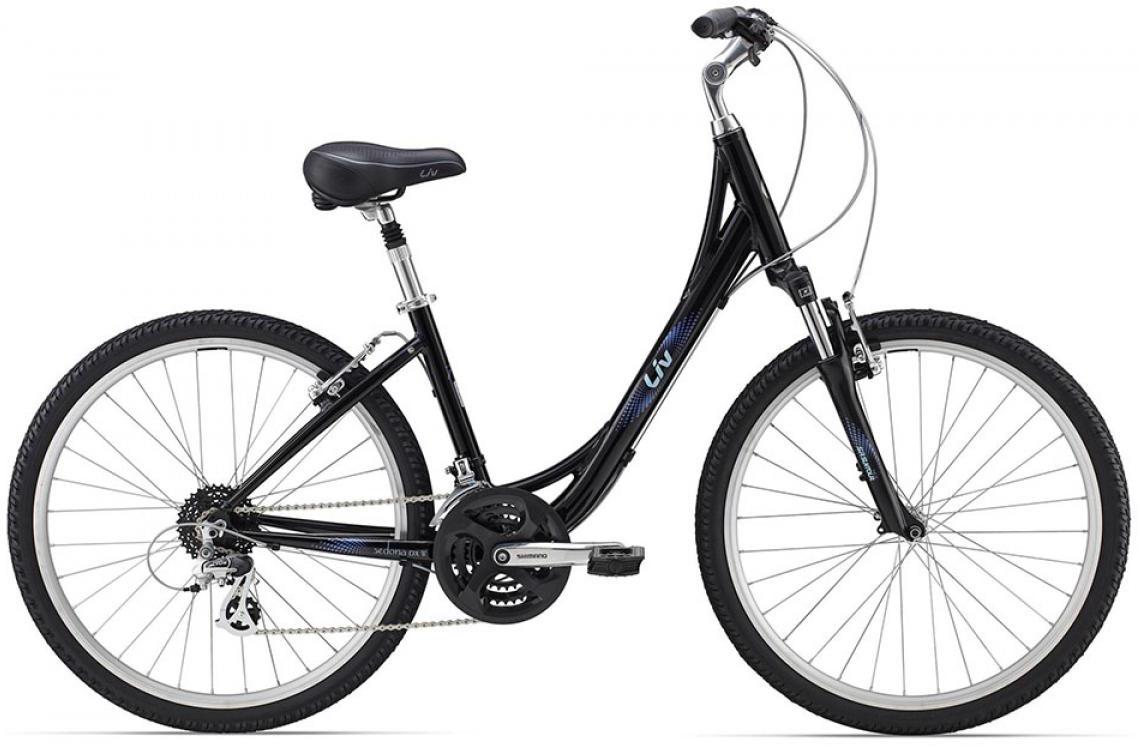 Велосипед женский Giant Sedona DX W 2015, цвет: черный, рама 18, колесо 26129702