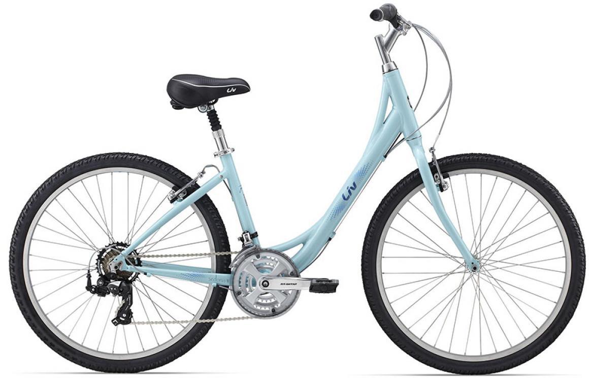 Велосипед женский Giant Sedona W 2015, цвет: голубой, рама 18, колесо 26129706