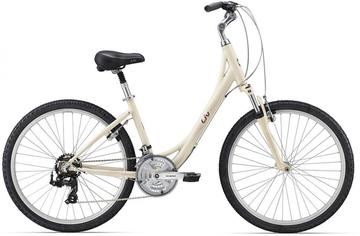 Велосипед женский Giant Sedona WGE 2015, цвет: белый, рама 16, колесо 26129709