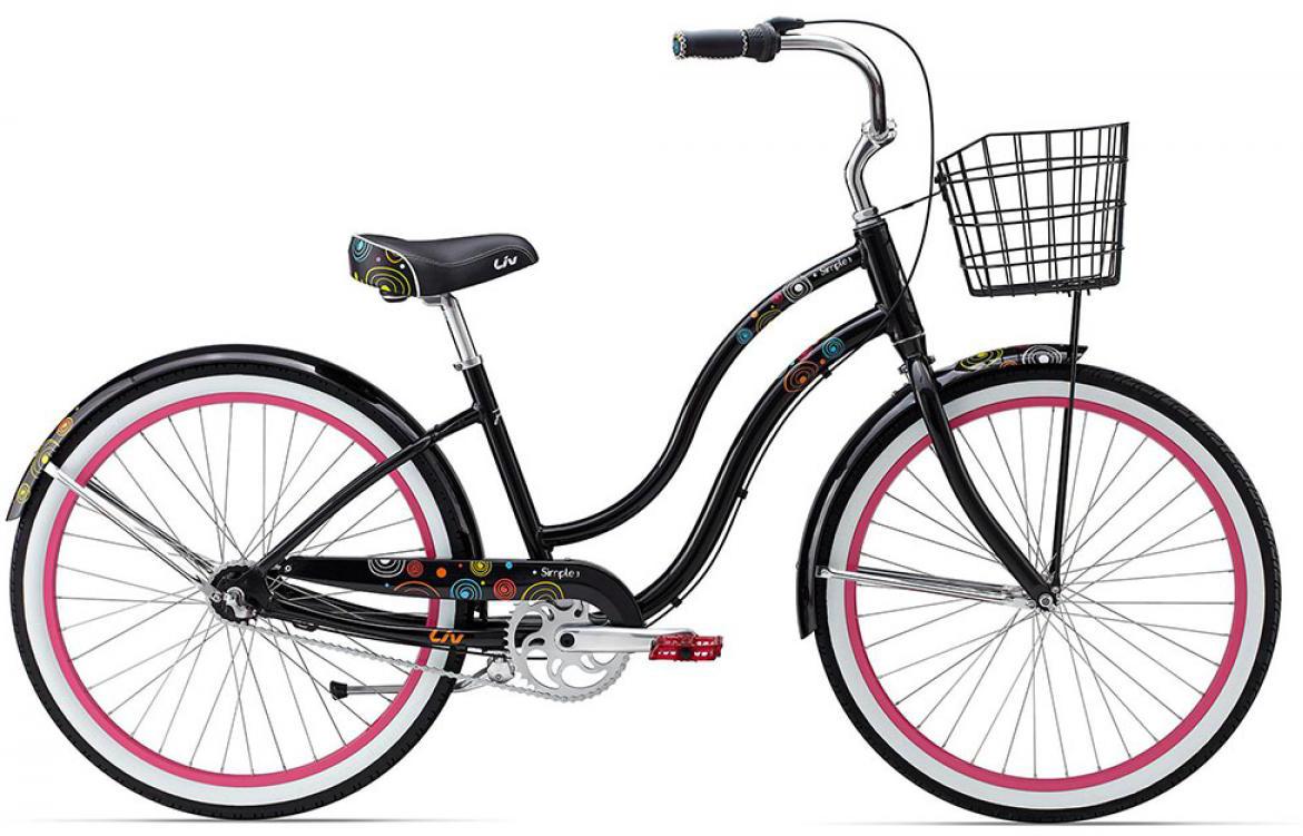 Велосипед женский Giant Simple Three W 2015, цвет: черный, рама , колесо 26129719