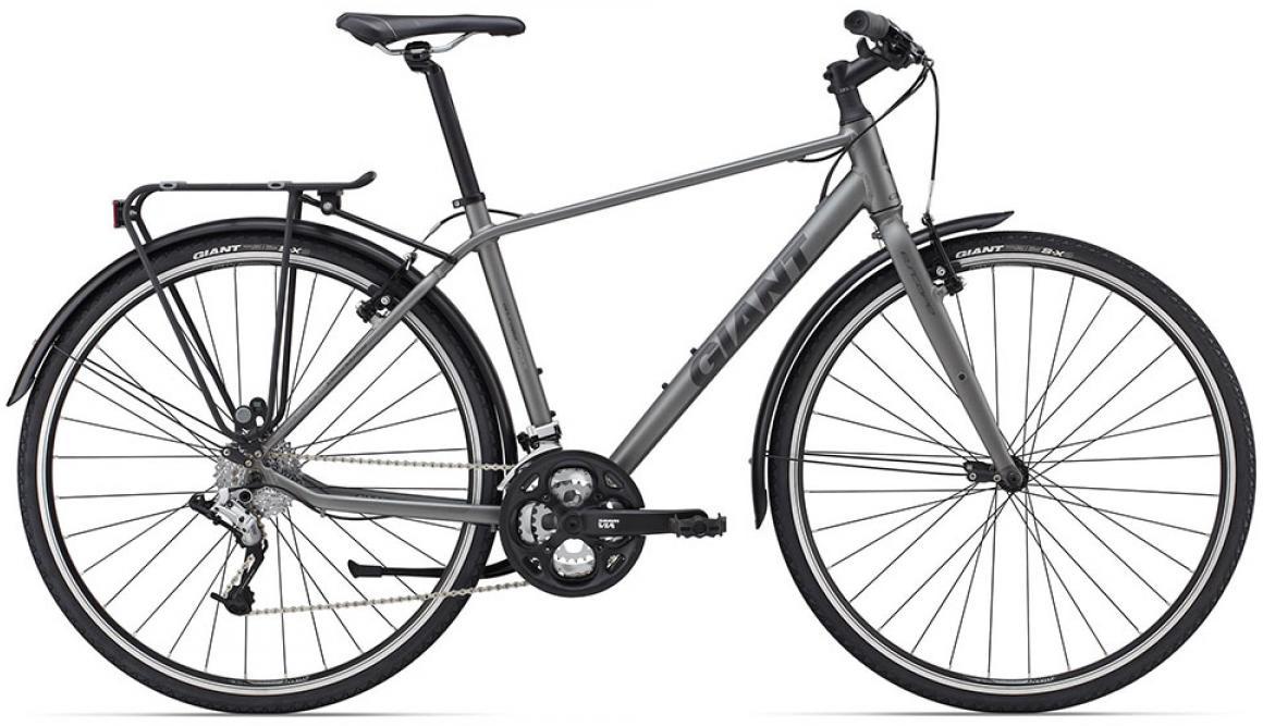 Велосипед городской Giant Escape 2 2015, цвет: серый, рама 22, колесо 28129745