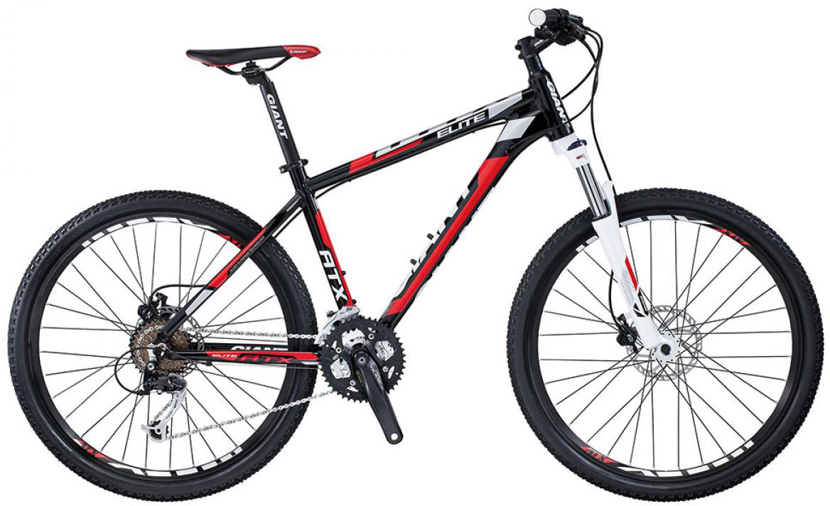 Велосипед горный Giant ATX Elite 1 2015, цвет: черный, рама 17, колесо, 26134877