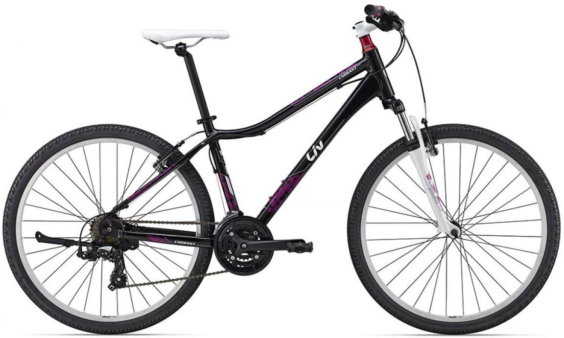Велосипед женский Giant Enchant 2 2015, цвет: черный, рама 16, колесо 26134893