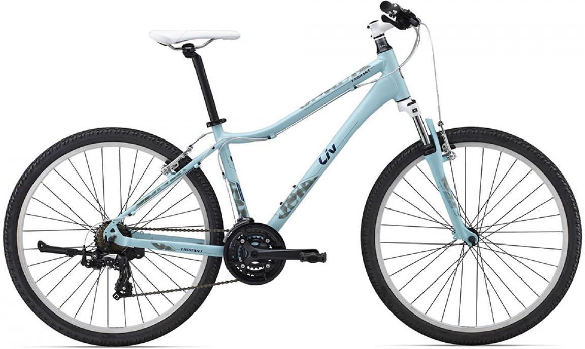 Велосипед женский Giant Enchant 2 2015, цвет: голубой, рама 16, колесо 26134894
