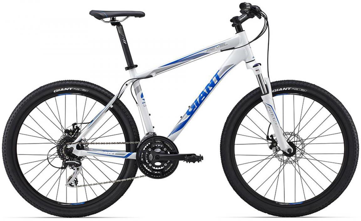 Велосипед горный Giant Revel 1 2015, цвет: белый, рама 14,5, колесо, 26134903