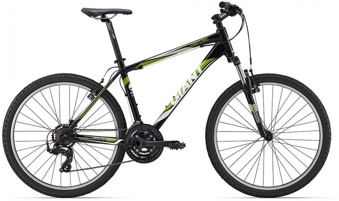 Велосипед горный Giant Revel 3 2015, цвет: черный, рама 14,5, колесо, 26134913