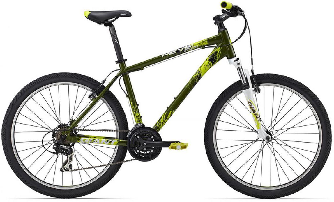 Велосипед горный Giant Revel Street 2 2015, цвет: зеленый, рама 14,5, колесо, 26134922