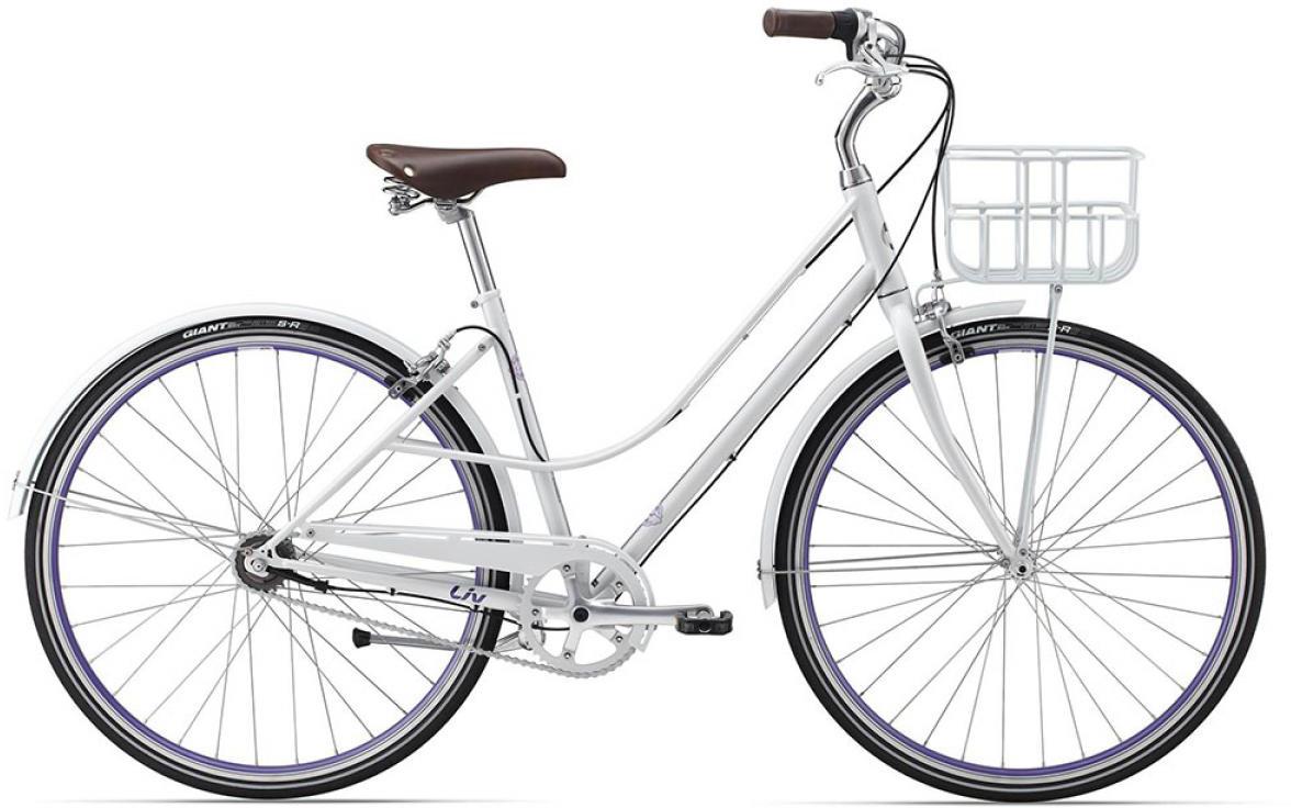 Велосипед женский Giant Via 1 W 2015, цвет: белый, рама 18, колесо 28134924