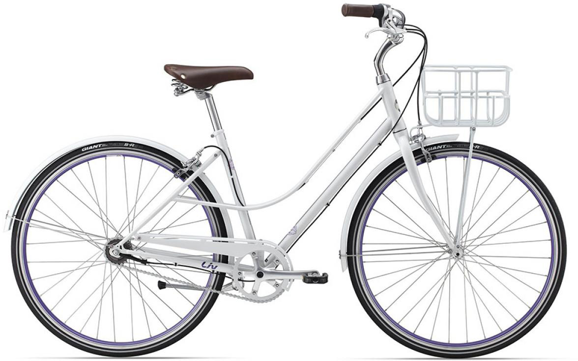 Велосипед женский Giant Via 1 W 2015, цвет: белый, рама 16, колесо 28134925