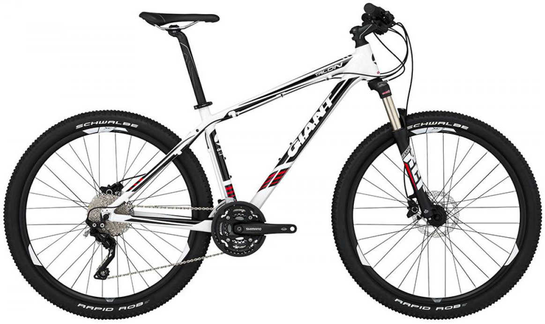 Велосипед горный Giant Talon 1 2015, цвет: белый, рама 18, колесо, 27,5134938