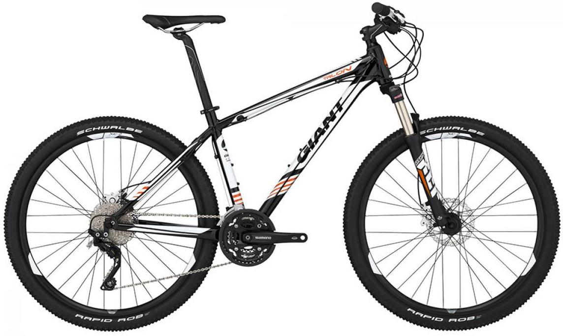 Велосипед горный Giant Talon 1 2015, цвет: черный, рама 16, колесо, 27,5134939