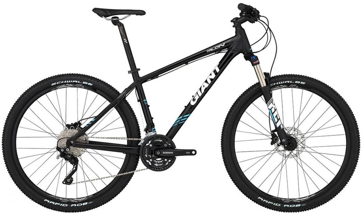 Велосипед горный Giant Talon 2 2015, цвет: черный, рама 16, колесо, 27,5134947