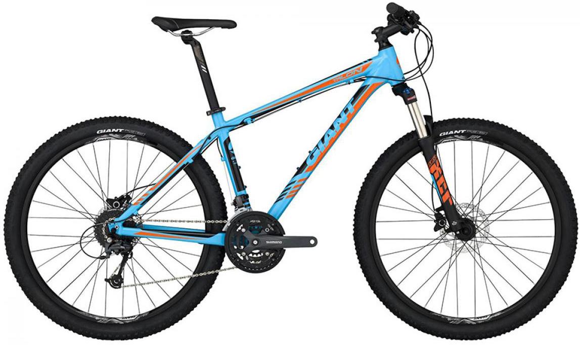 Велосипед горный Giant Talon 3 2015, цвет: синий, рама 22, колесо, 27,5134956