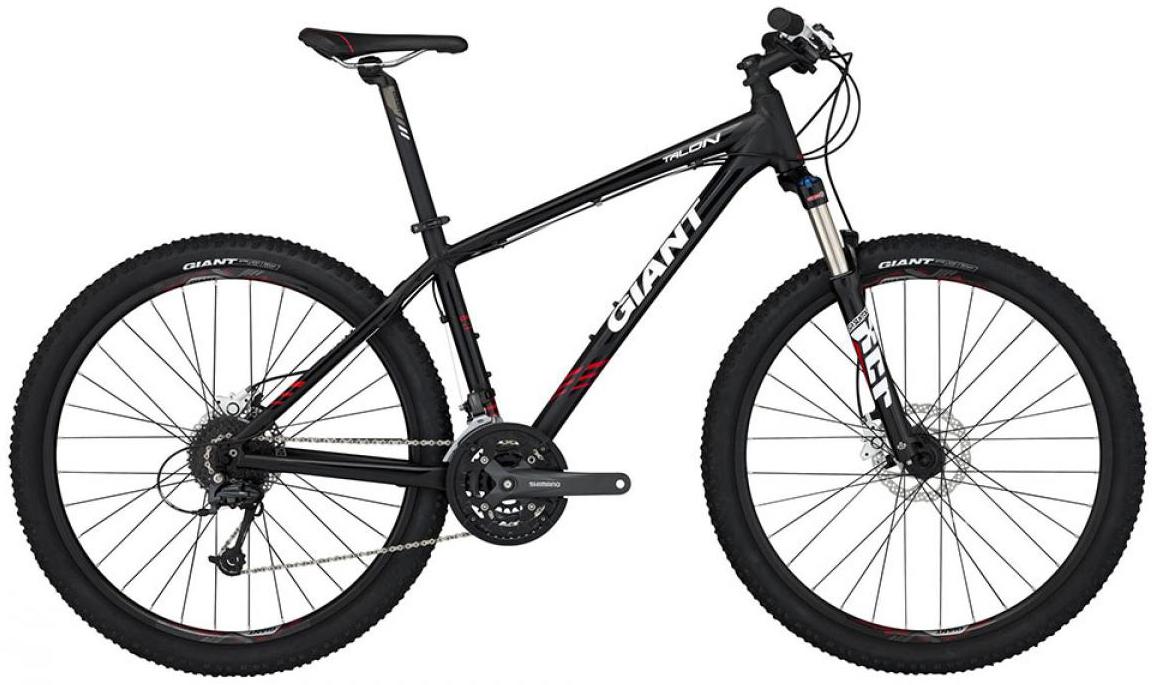 Велосипед горный Giant Talon 3 2015, цвет: черный, рама 14,5, колесо, 27,5134957