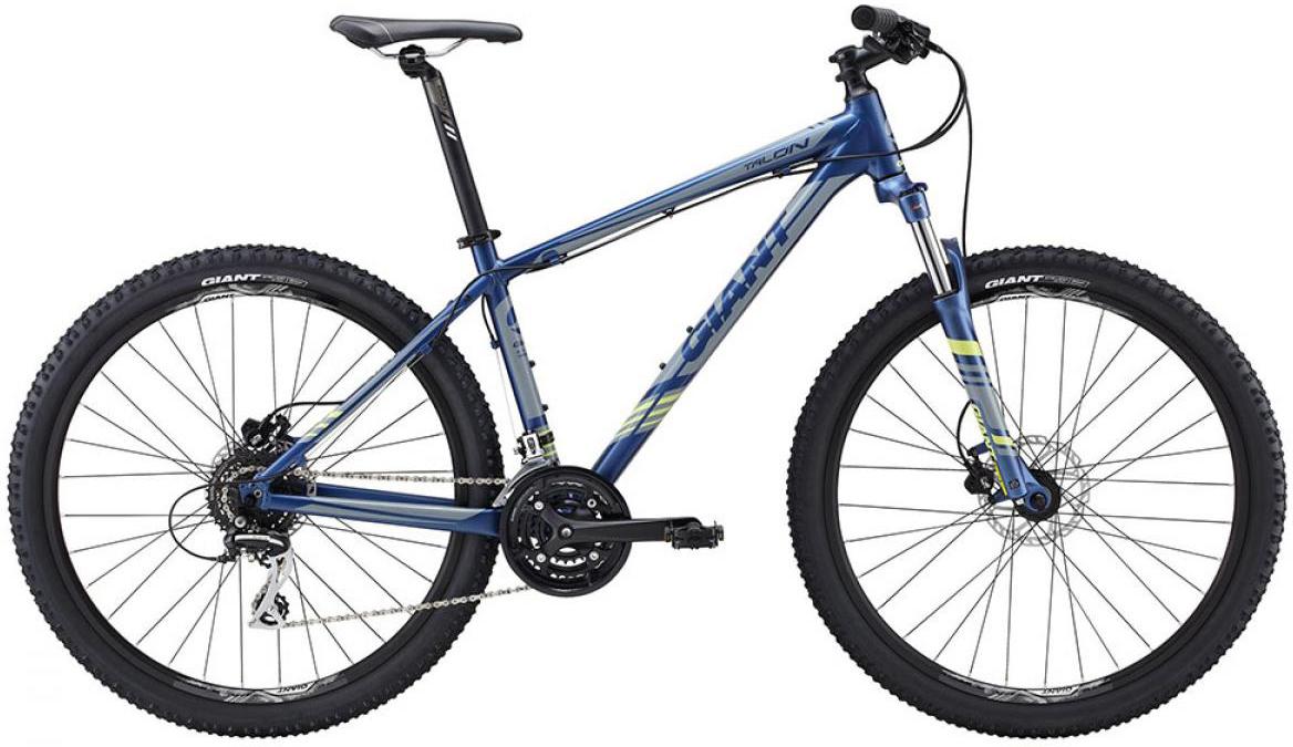 Велосипед горный Giant Talon 4 2015, цвет: синий, рама 18, колесо, 27,5134961