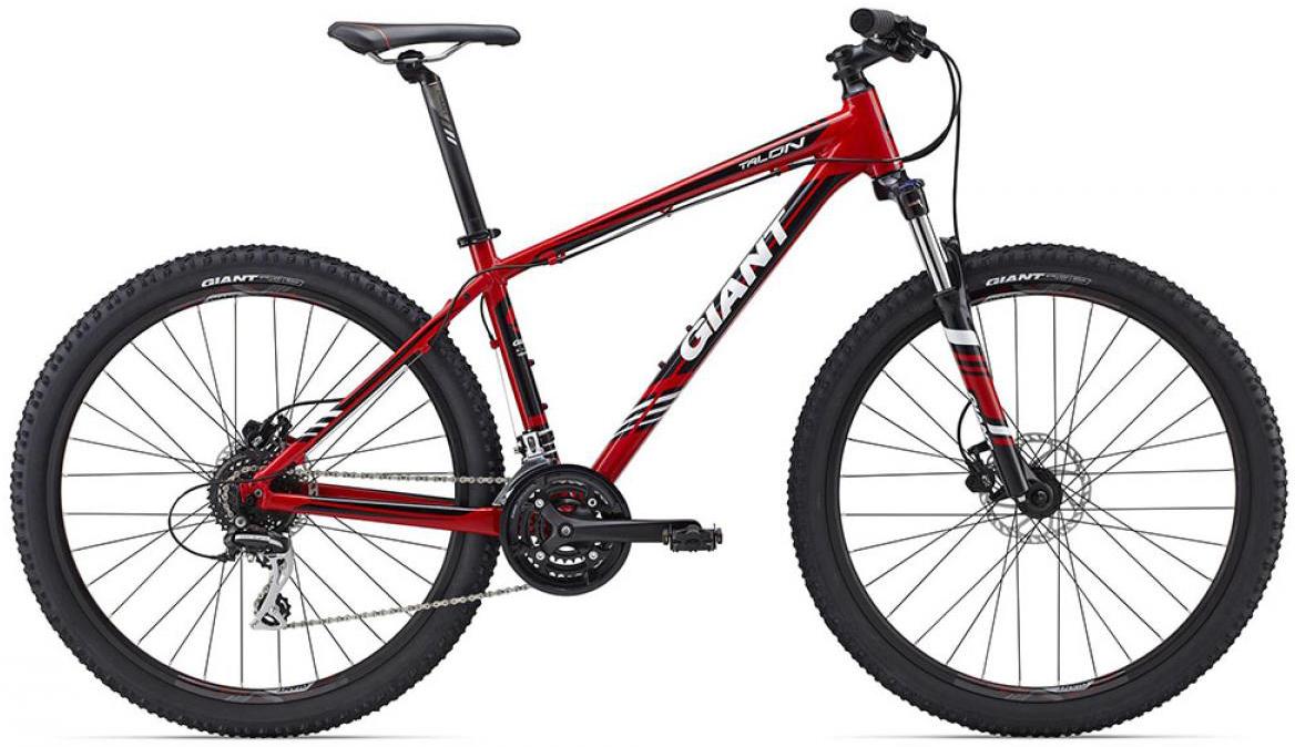 Велосипед горный Giant Talon 4 2015, цвет: красный, рама 22, колесо, 27,5134966