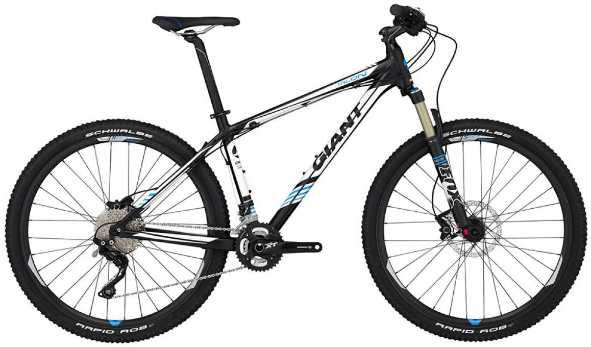 Велосипед горный Giant Talon 27.5 RC LTD 2015, цвет: черный, рама 18, колесо, 27,5134969