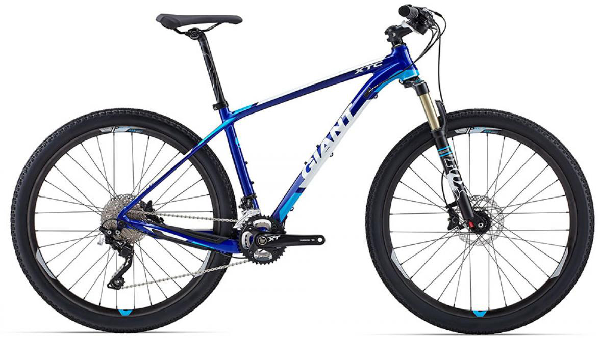 Велосипед горный Giant XtC 0 2015, цвет: синий, рама 18, колесо, 27,5134972